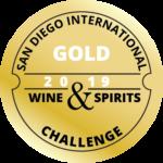 San Diego Intl Wine & Spirits Challenge medal